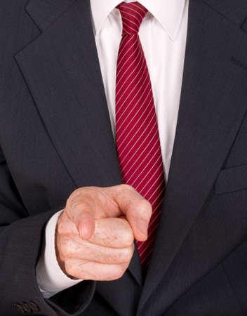 bossy: Bossy, bully etc - aggressive man pointing finger