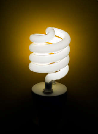 cfl: Real light bulb - CFL style