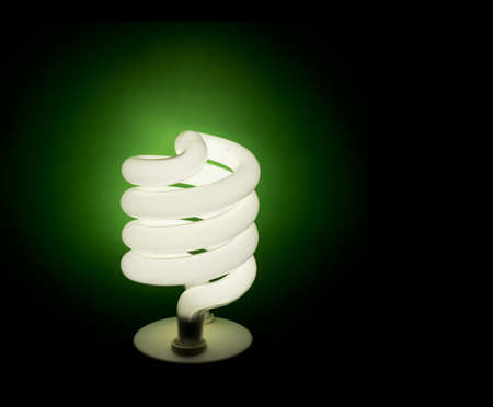 Green energy, eco-friendly background photo