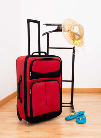 Holiday, vacation - arrival in hotel maybe Stock Photo - 26038028