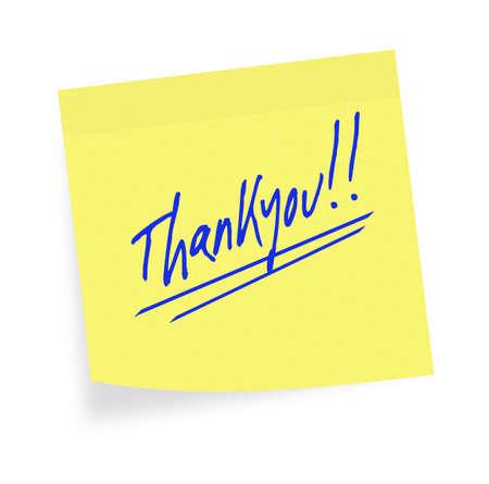 thankyou: General purpose thankyou adhesive note