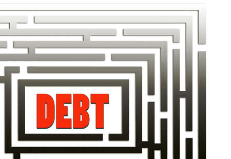 indebted: There is a way out  Debt maze, puzzle