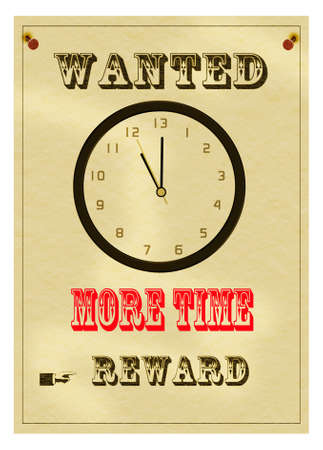 Stress. More time wanted. Overwork. photo