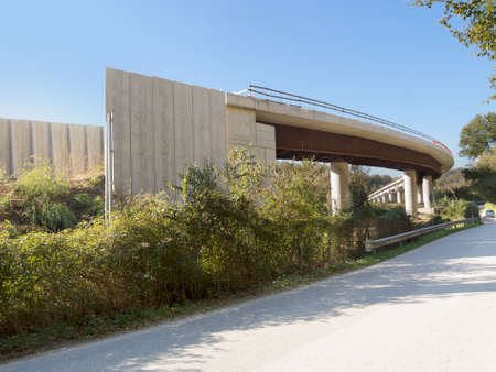 taxpayers: Unfinished capital investment project, road, Italy.