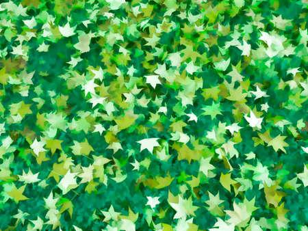 Beautiful green leaf background. photo