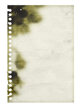 Charred sheet of paper background. For your text. photo