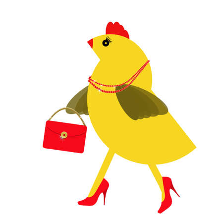 middle age women: Middle age! Spring chicken day out with bling and heels.