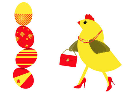 middle easter: Middle age fun! Spring chicken shopping for Easter eggs.