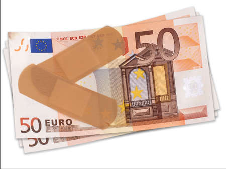 Difficult times for the Eurozone. Patched up.