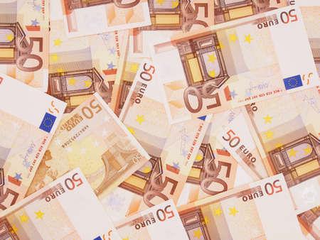 billets euros: Notes euro. Monnaie. Contexte.