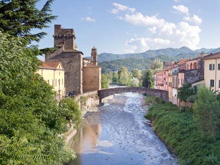 massa: Pontremoli view in Lunigiana an area of north Tuscany.
