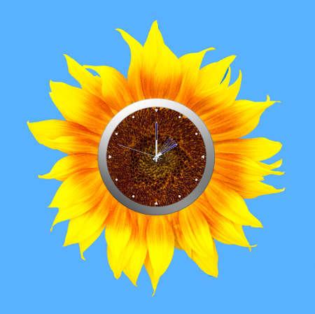 daylight savings time: Daylight savings time clock - forward into summer.
