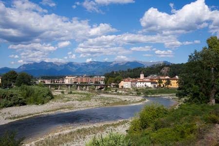massa: Aulla in the province of Massa Carrara, Italy. An important centre for the area.