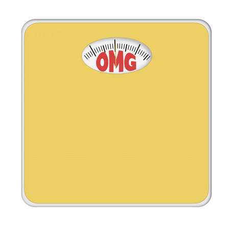 mentioned: Surrise bathroom scales, isolated. No numbers, weight mentioned.