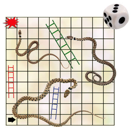 snakes and ladders: Occupational hazards - and opportunities. Featuring real snakes!
