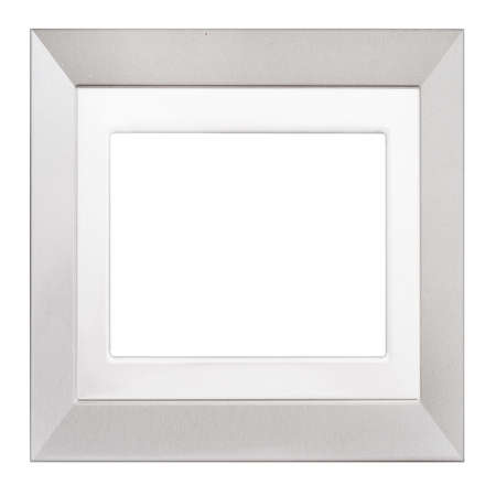 modern frame: Simple photo frame. Isolated. Square.