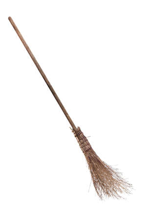 broom handle: Besom, broom. Halloween etc. Means of transport?