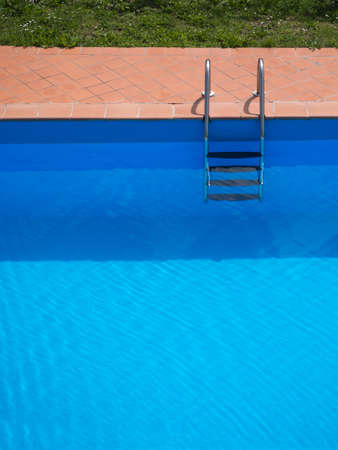 enticing: Swimming pool . Looks enticing on a hot day. Stock Photo