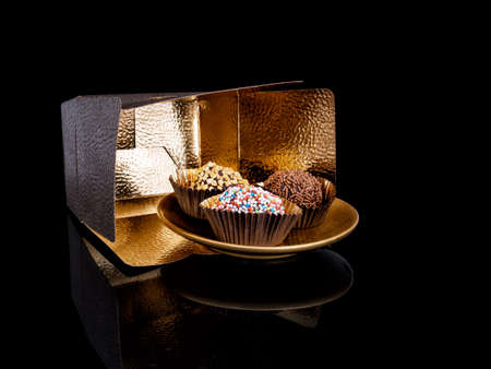 Different, delicious treats. Stock Photo