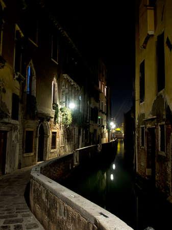 Deserted backwater of Venice. Stock fotó