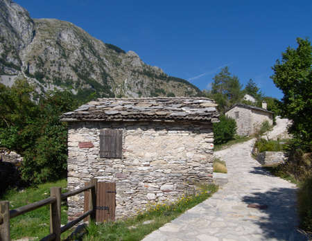 Hidden gem in Garfagnana, Italy: Campocatino in the Apuan Alps, aka Vagli Sotto. 1000 MAMSL it was a village for shepherds near their summer pastures. Archivio Fotografico