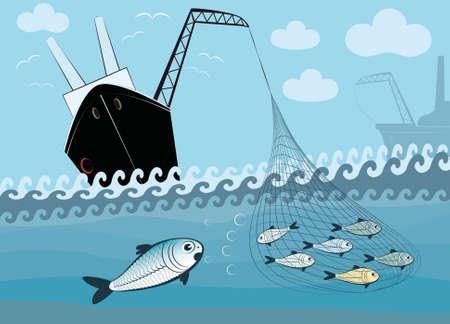 ignorancia: pesca Vectores