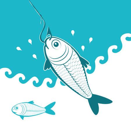 ignorancia: los peces en el gancho