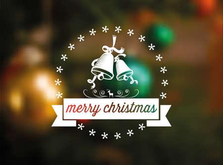 streckbilder: line art jul skylt på suddig festlig bakgrund