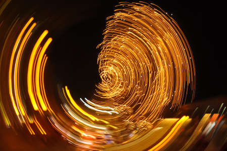 light painting: Light Painting with the camera movement