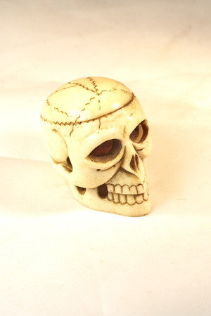 novelty: novelty old toy skull