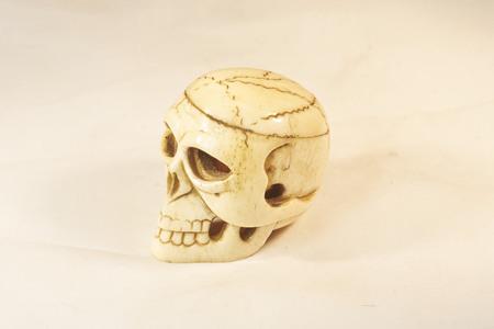 the novelty: novelty old toy skull