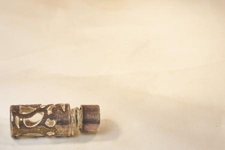 scent: Antique silver scent bottle