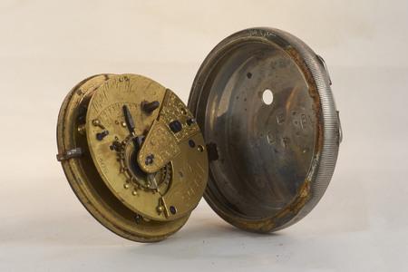 timekeeping: Antique Silver Fusse Watch
