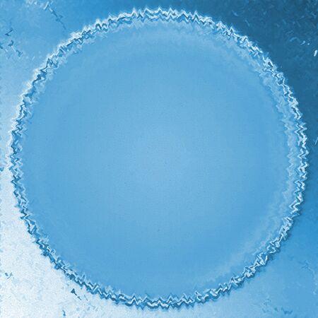 blue circle photo