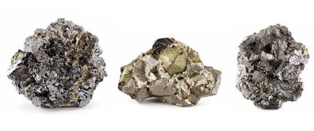 plumbum: pyrite and galenite