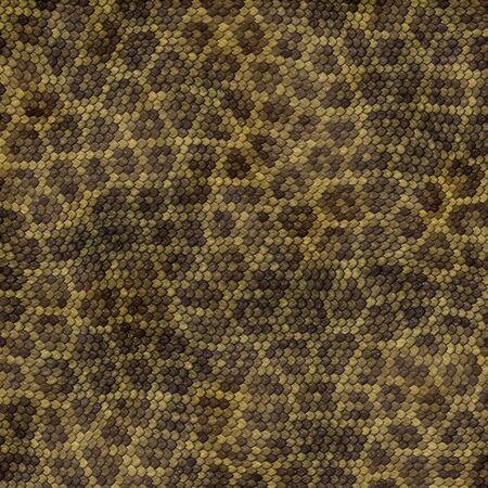 snakeskin texture illustration Stock Photo