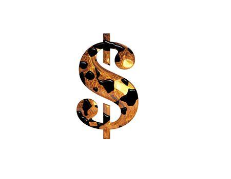 crude dollar photo