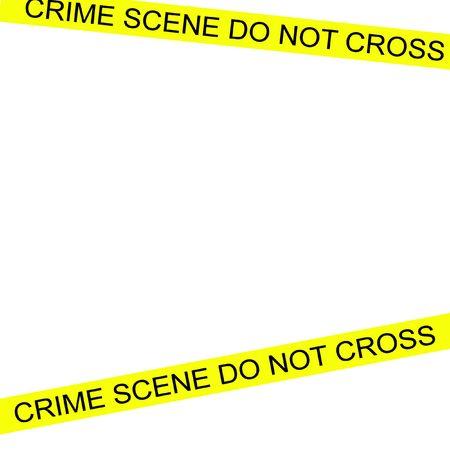 crime scene tape: Crime scene tape