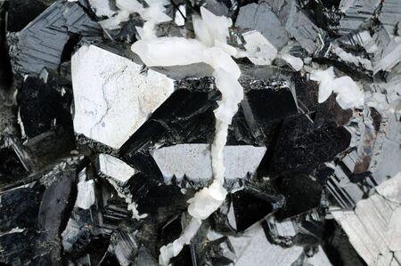 mineralogy: Sfaleryte mineral background Stock Photo
