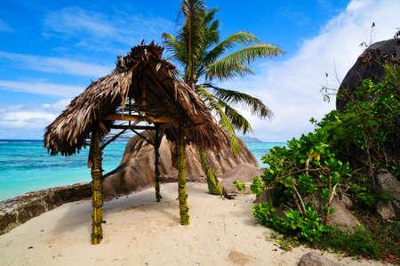 anse source d argent: Anse Source D argent  Romantic beach, the Seychelles island