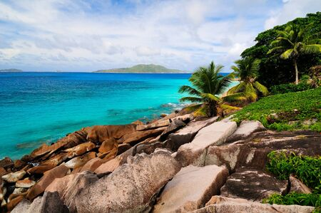 View on the Seychelles Stock Photo - 17163302