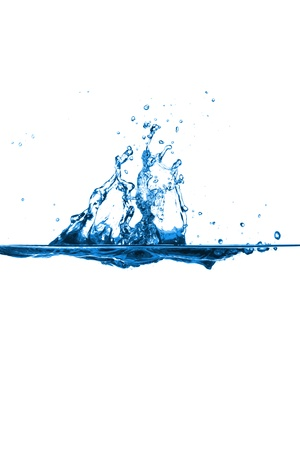 Water splashes photo