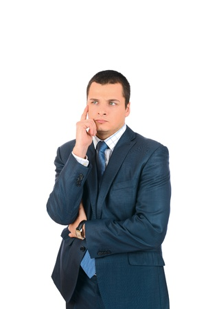 Portrait of a business man, isolated on white background Stock Photo - 18157222