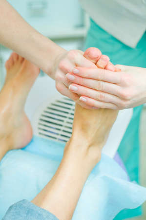 Pedicure in process Stock Photo - 18527605