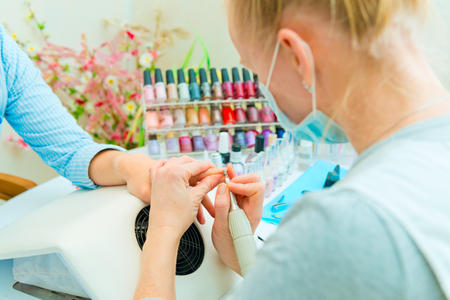 Manicure in process Stock Photo - 25123363