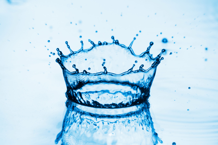 Water splashes background photo