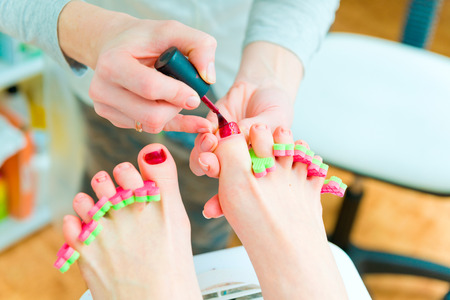 Pedicure in process Stock Photo - 25563683