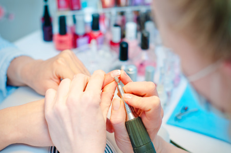 Manicure in process Stock Photo - 30307081