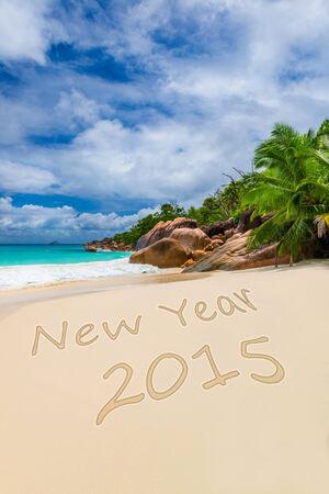 seychelles: Tropical beach. The Seychelles