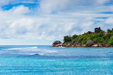 seychelles: Tropical island. The Seychelles